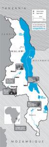 Карта на Малави